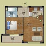 1 Em 5 alaprajz | Eladó energiatakarékos lakás Zuglóban