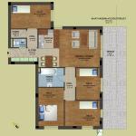 Fsz. 4 alaprajz | Eladó energiatakarékos lakás Zuglóban