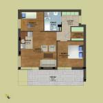 Fsz. 5 alaprajz | Eladó energiatakarékos lakás Zuglóban