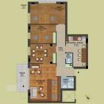 Fsz. 1-2 alaprajz | Eladó energiatakarékos lakás Zuglóban