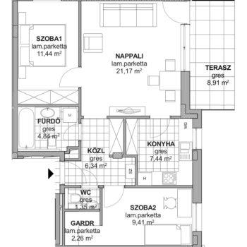 1 emelet 2 Kopja 16