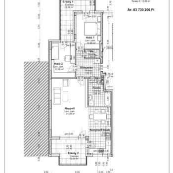 1 emelet 1 alaprajz