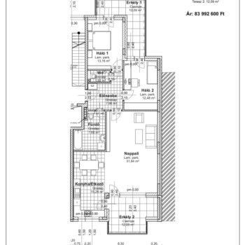 1 emelet 2 alaprajz