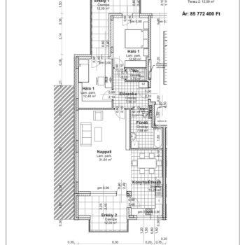 2 emelet 1 alaprajz