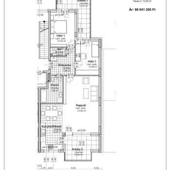 2 emelet 2 alaprajz